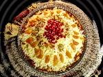 Плов с орехами и сухофруктами: блюдо готово, можно подавать на стол