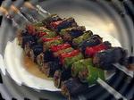 Шашлык из фаршированных овощей: блюдо готово, можно подавать на стол